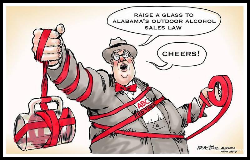 Political cartoon by JD Crowe