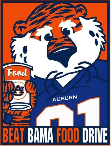 Beat Bama Food Drive