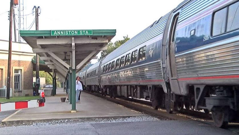 Anniston passenger rail