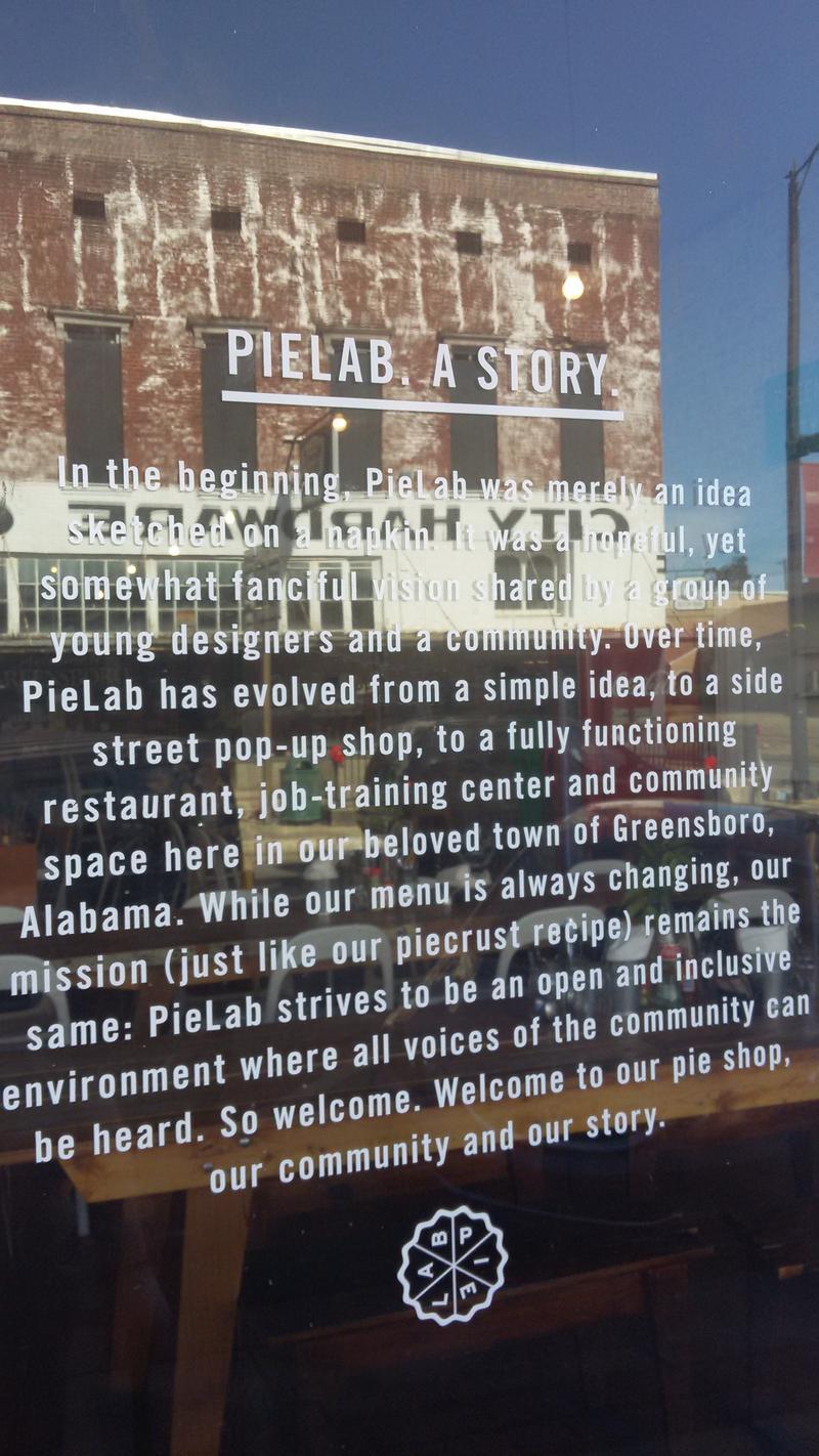 Pie Lab's Story