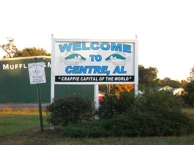 Centre sign