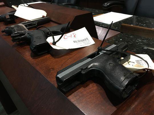 Montgomery handguns