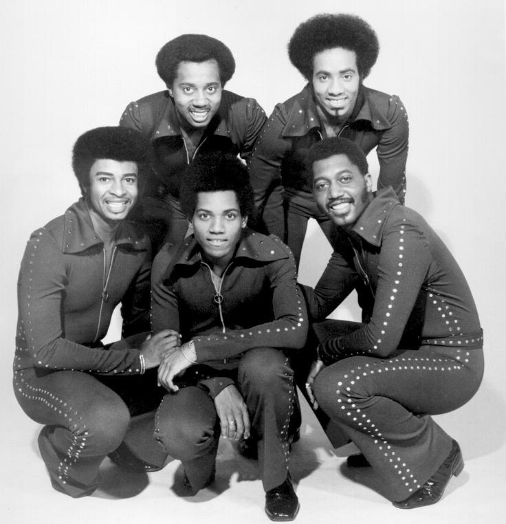 Dennis Edwards (L) with The Temptations