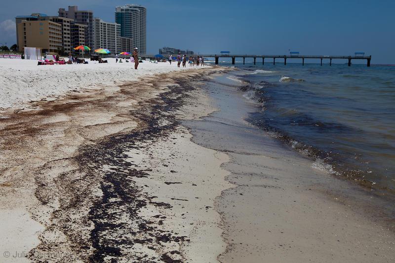 Orange Beach oil