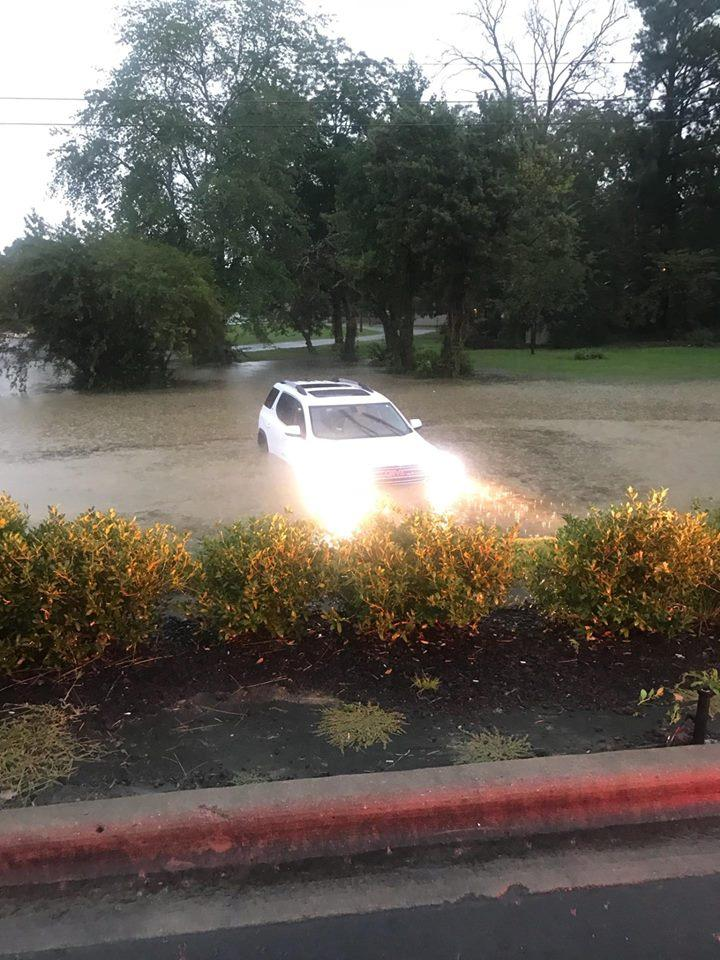 flood SUV