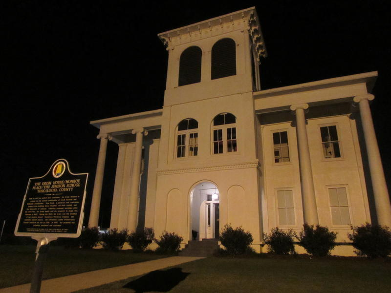 The supposedly haunted Drish House in Tuscaloosa