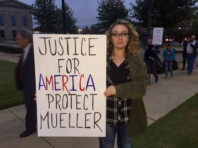 Tuscaloosa protester