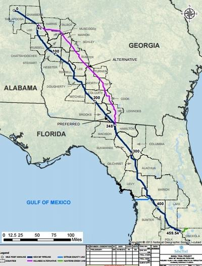 Interstate Natural Gas Pipeline Opening Soon Alabama Public Radio