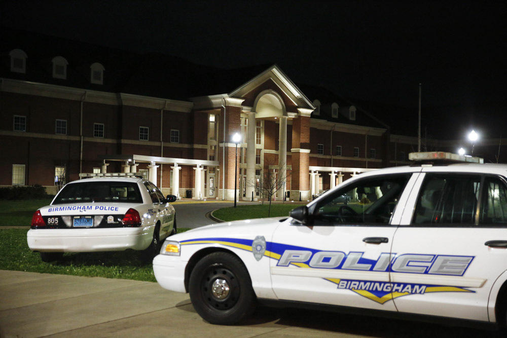 Shooting at Huffman High School leaves one dead and another critically injured class=