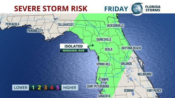 Lightning Strikes Map Florida.A Few Strong Storms Possible Friday In North Central Florida