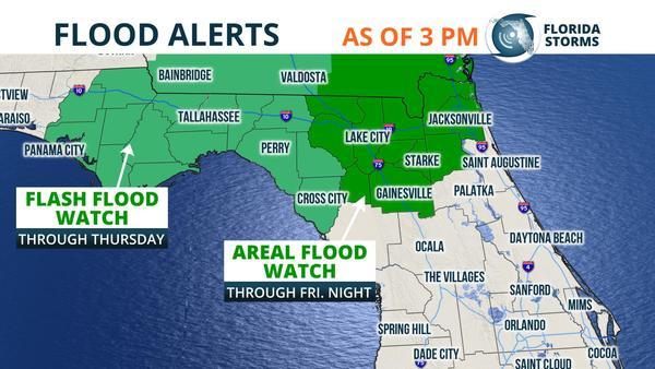 Florida Tornado Map.Tornado Flood And Wind Damage Risk In Florida Friday Wgcu News