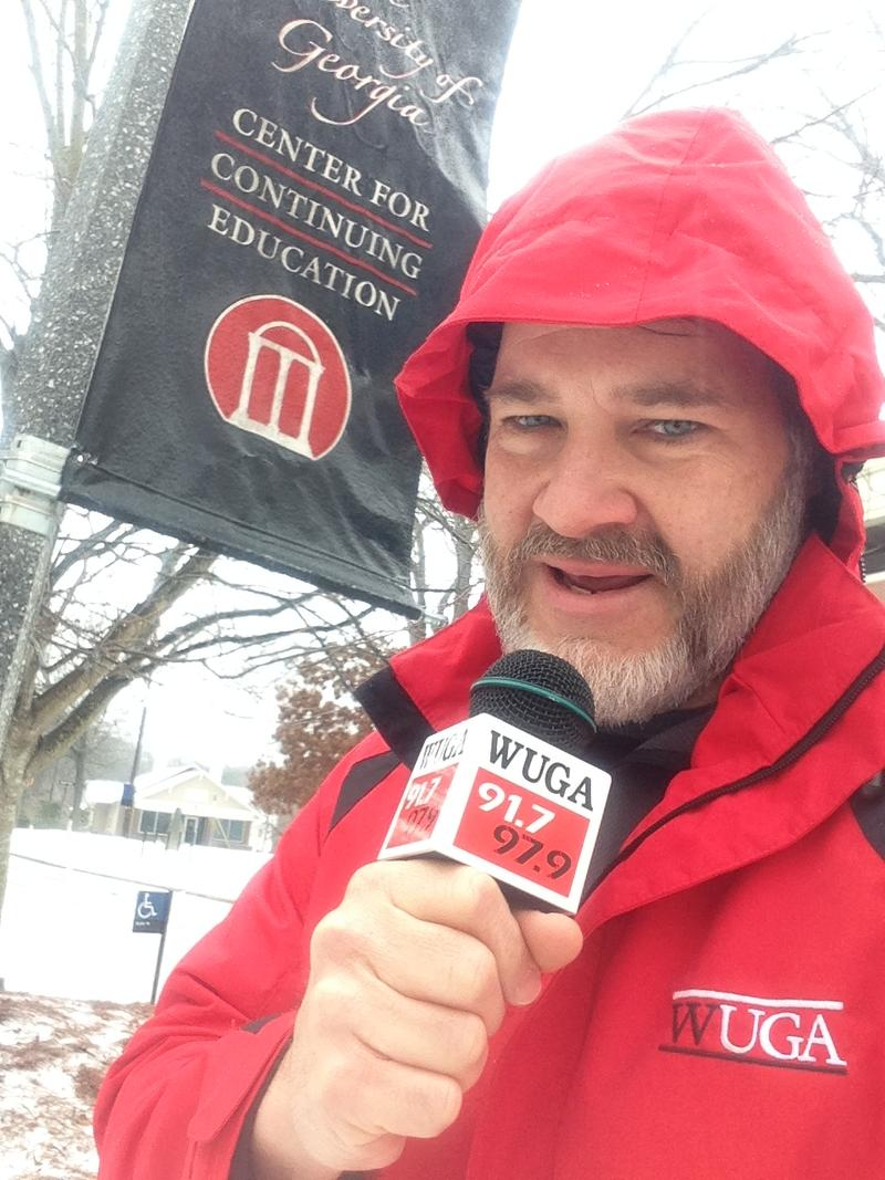 Chris Shupe covering Snowpocalypse '14