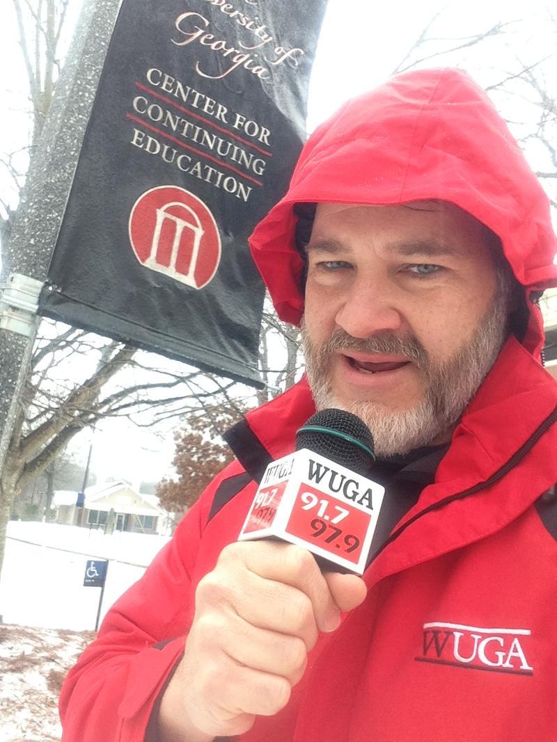 Chris Shupe covering Snowpocalypse '14