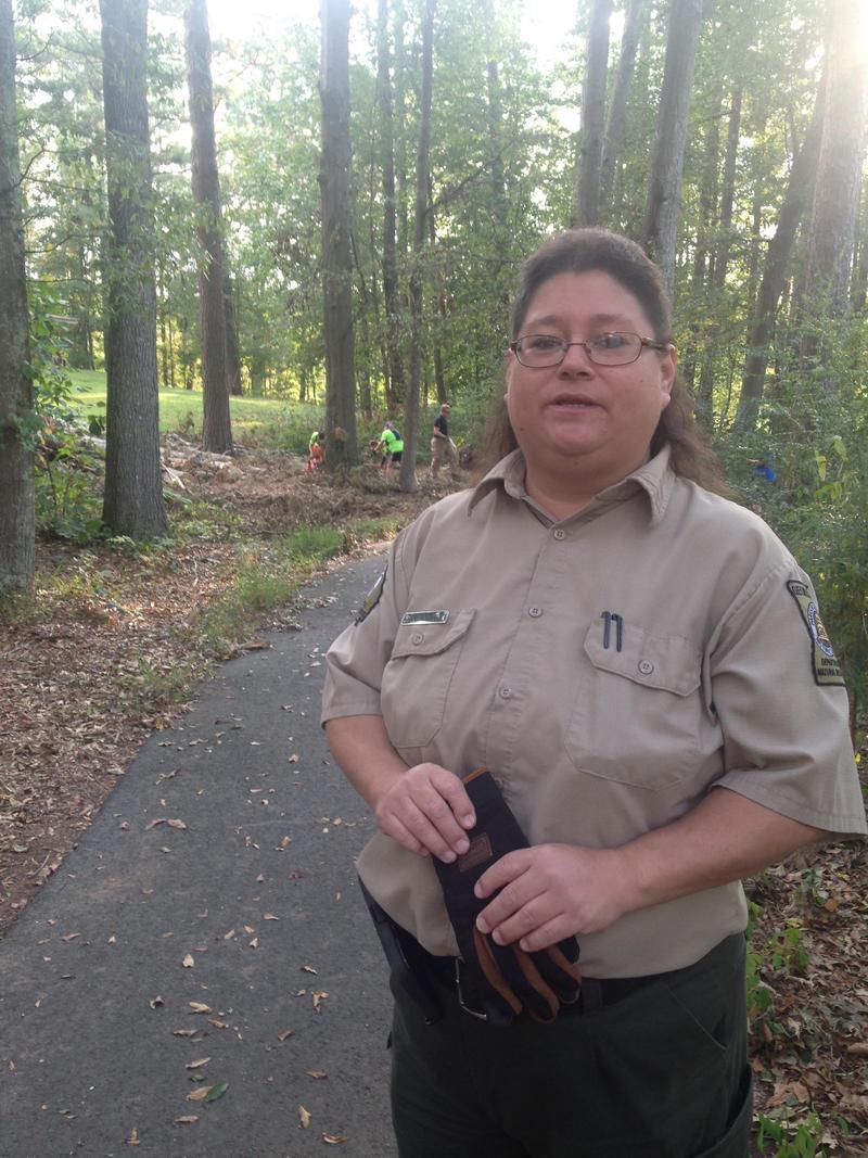 Park Manager Julia Autry