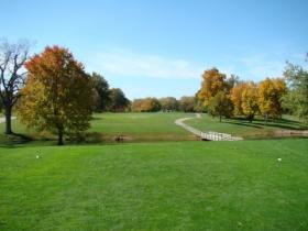Bunn Golf Course from first tee
