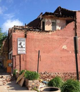 Brick shops in Hannibal Historic District among those blown apart by high winds