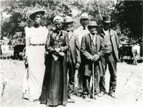 """Juneteenth celebration in Austin, Texas, on June 19, 1900."" – Wikimedia Commons"