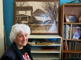 Retired professor Jackie Dougan Jackson lives in Springfield, Ill., but devotes a lot of time reflecting on her childhood growing up on a farm near Beloit, Wisc.