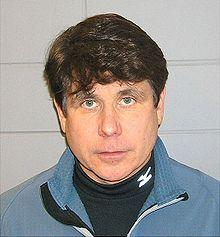 Former Governor Rod Blagojevich mug shot.