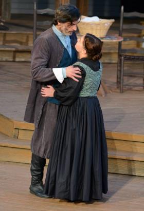 John O'Connor as John Proctor & Kara DeWall as Abigail Williams