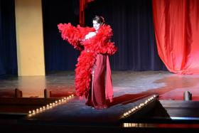 Devin Dinora in the limelight as Gypsy Rose Lee