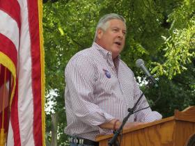 Sen. Kirk Dillard at the Illinois State Fair (file)