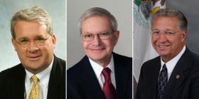 Jim Durkin, Dwight Kay, Raymond Poe