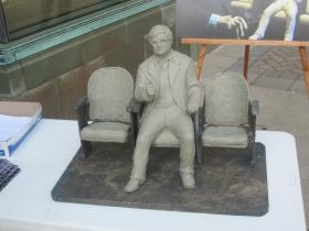 A model of the proposed statue.