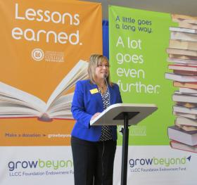 LLCC Foundation Director Karen Sanders