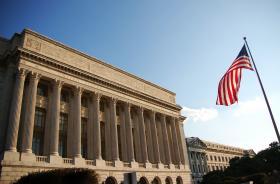 The USDA headquarters in Washington D.C.