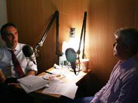 StoryCorps founder Dave Isay and NPR's Scott Simon