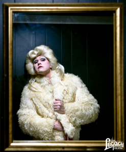 Patrick Russell as Hedwig. Photo by John Muchow of Muchow Photography.