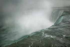 """Niagara Falls, Ontario, Canada, 2009"" is among more than 70 Annie Leibovitz photographs on display at the Abraham Lincoln Presidential Museum in Springfield."