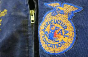 The blue corduroy jackets sported by high schoolers in FFA have been a part of the group's brand since its founding in 1928.