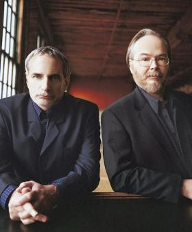 Steely Dan's Donald Fagen (left) and Walter Becker