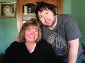 Debra and Zach Medlyn