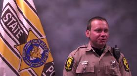 Illinois State Trooper Brad Williams, one of 16 recipients of the states's Medal of Honor this year.