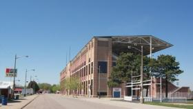 The Illinois State Fair grandstand