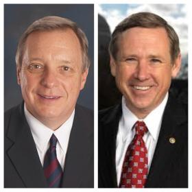 U.S. Senators Dick Durbin (D-IL) and Mark Kirk (R-IL)