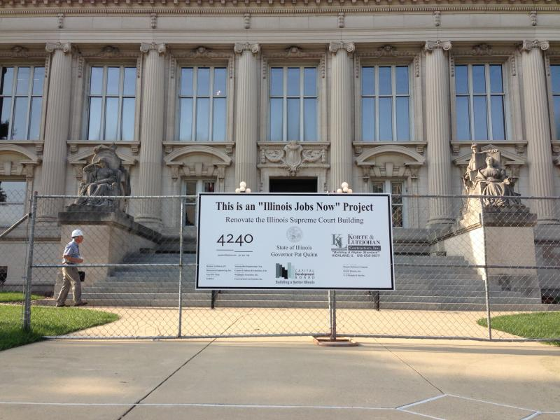 Illinois Supreme Court under construction
