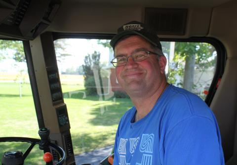 Iowa corn farmer Aaron Lehman tried to make big business purchases while times were good.