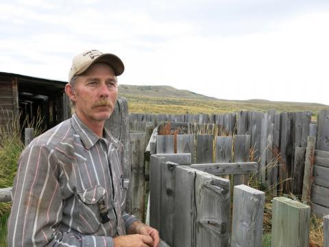 Sheep rancher Albert Villard from Craig, Colo., has seen the decline of the sheep industry first-hand. He's been ranching at least part-time since he was a teenager.