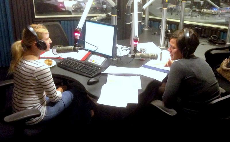 Amanda Vinicky and Mikal Sutton rally listeners on the last day of on-air fundraising for the fall drive.