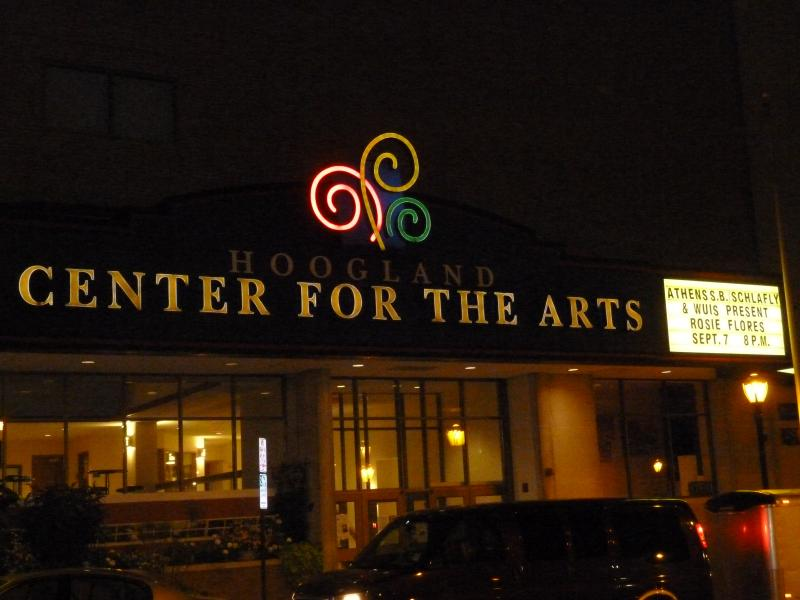 Hoogland Center for the Arts Marquee