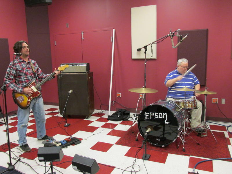 Epsom in the NPR Illinois Suggs Peformance Studio.