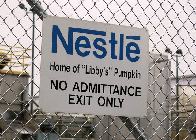 Nestle is very secretive about Morton operation, no longer offers tours