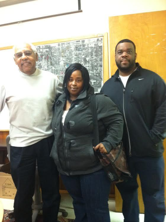 Elbert Betts, Adrianna Sivels, and Andre Williams
