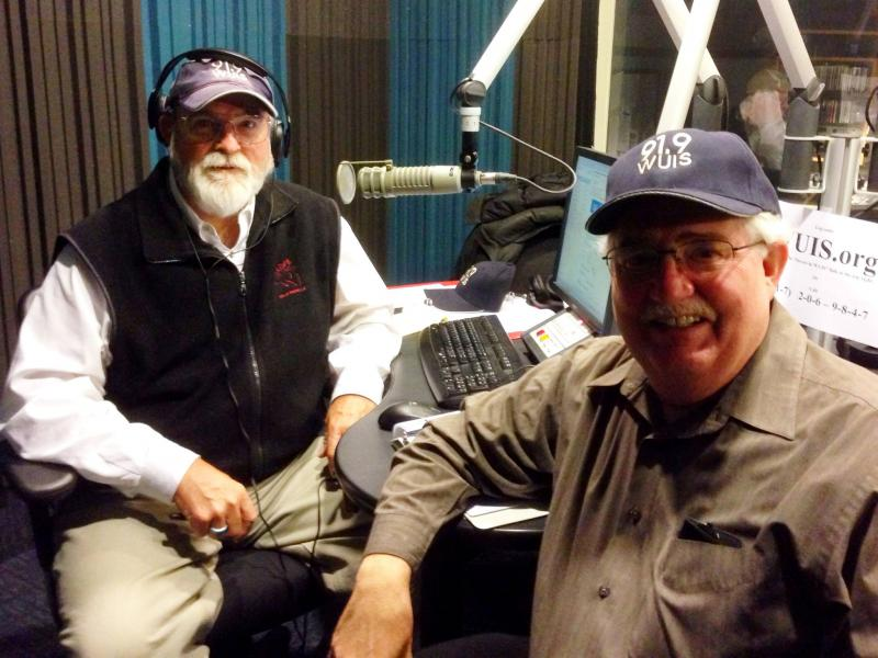 Rudy Rudolph and Michael Plog suggest and end of year gift to support WUIS.
