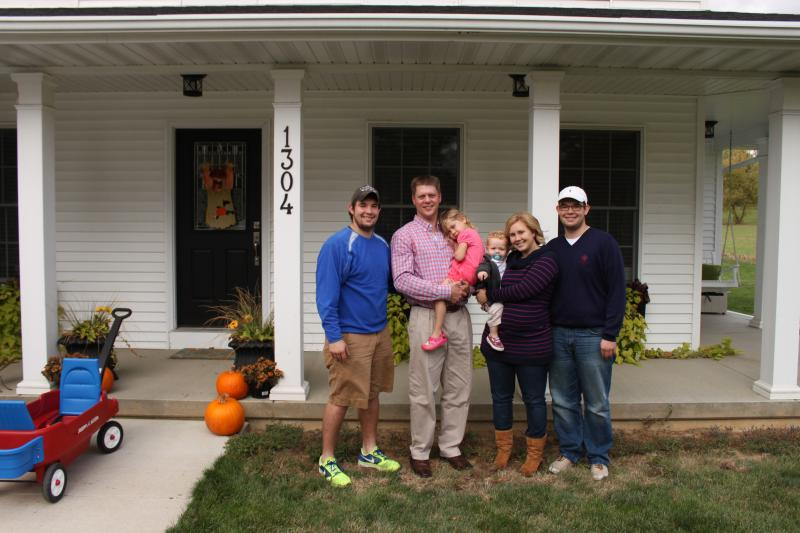 The Pothoff family chose to build in DePue