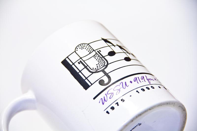 WSSU 15th Anniversary Mug 1990